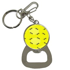 Ant Yellow Circle Button Necklaces