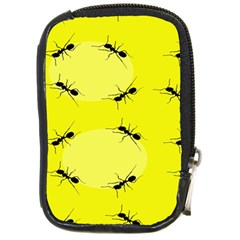 Ant Yellow Circle Compact Camera Cases