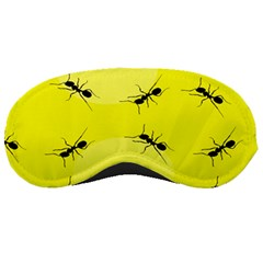 Ant Yellow Circle Sleeping Masks