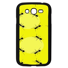 Ant Yellow Circle Samsung Galaxy Grand DUOS I9082 Case (Black)