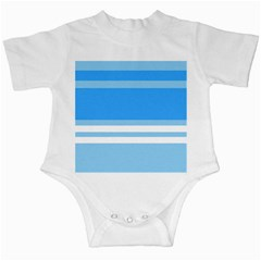 Blue Horizon Graphic Simplified Version Infant Creepers