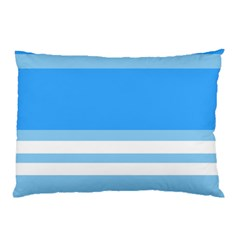 Blue Horizon Graphic Simplified Version Pillow Case