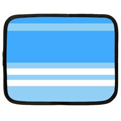Blue Horizon Graphic Simplified Version Netbook Case (XXL)