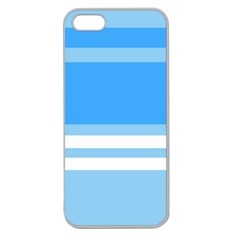 Blue Horizon Graphic Simplified Version Apple Seamless iPhone 5 Case (Clear)