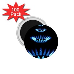 Blue Flame 1.75  Magnets (100 pack)