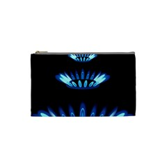 Blue Flame Cosmetic Bag (Small)