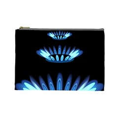 Blue Flame Cosmetic Bag (Large)