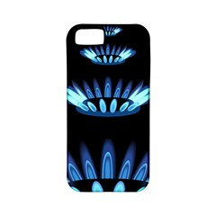 Blue Flame Apple iPhone 5 Classic Hardshell Case (PC+Silicone)
