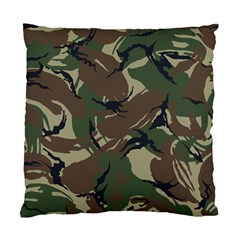 Army Shirt Grey Green Blue Standard Cushion Case (two Sides)