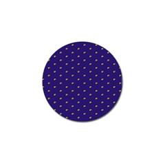 Blue Yellow Sign Golf Ball Marker (10 pack)