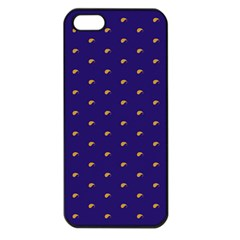 Blue Yellow Sign Apple iPhone 5 Seamless Case (Black)