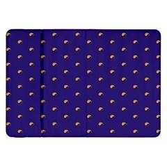 Blue Yellow Sign Samsung Galaxy Tab 8.9  P7300 Flip Case
