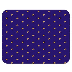 Blue Yellow Sign Double Sided Flano Blanket (Medium)