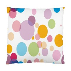 Bubble Water Yellow Blue Green Orange Pink Circle Standard Cushion Case (two Sides)