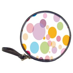 Bubble Water Yellow Blue Green Orange Pink Circle Classic 20-CD Wallets