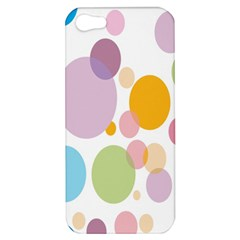 Bubble Water Yellow Blue Green Orange Pink Circle Apple iPhone 5 Hardshell Case