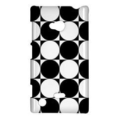 Circles Black White Nokia Lumia 720