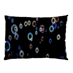 Bubble Light Black Pillow Case (Two Sides)