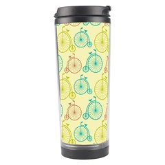Wheel Bike Round Sport Color Yellow Blue Green Red Pink Travel Tumbler