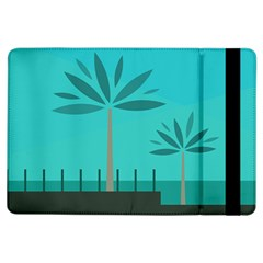 Coconut Palm Trees Sea Ipad Air Flip