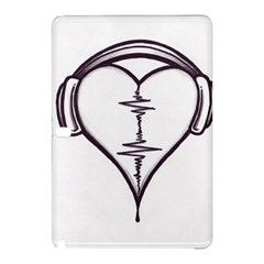 Audio Heart Tattoo Design By Pointofyou Heart Tattoo Designs Home R6jk1a Clipart Samsung Galaxy Tab Pro 10.1 Hardshell Case