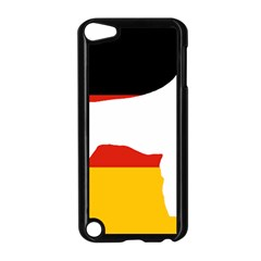 German Wirehaired Pointer Silo On Flag Apple iPod Touch 5 Case (Black)