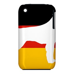 German Wirehaired Pointer Silo On Flag iPhone 3S/3GS