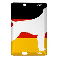 German Wirehaired Pointer Silo On Flag Amazon Kindle Fire HD (2013) Hardshell Case