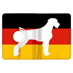 German Wirehaired Pointer Silo On Flag Kindle Fire HDX Flip 360 Case