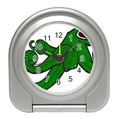 Tentacle Monster Green  Travel Alarm Clocks