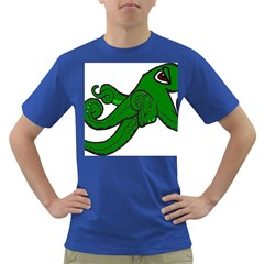 Tentacle Monster Green  Dark T-Shirt