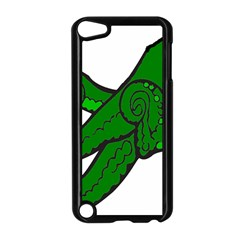 Tentacle Monster Green  Apple iPod Touch 5 Case (Black)