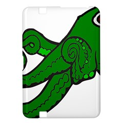 Tentacle Monster Green  Kindle Fire HD 8.9