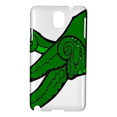 Tentacle Monster Green  Samsung Galaxy Note 3 N9005 Hardshell Case