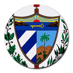 Coat of Arms of Cuba Round Mousepads