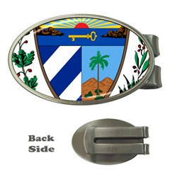 Coat of Arms of Cuba Money Clips (Oval)