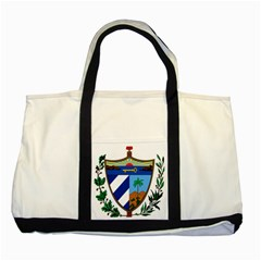 Coat of Arms of Cuba Two Tone Tote Bag