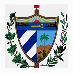 Coat of Arms of Cuba Medium Glasses Cloth