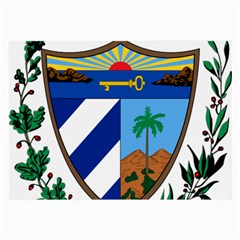 Coat of Arms of Cuba Large Glasses Cloth