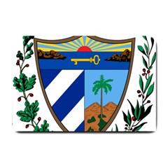 Coat of Arms of Cuba Small Doormat