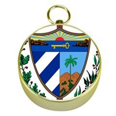 Coat of Arms of Cuba Gold Compasses