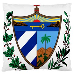 Coat of Arms of Cuba Large Flano Cushion Case (Two Sides)