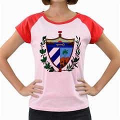 Coat of Arms of Cuba Women s Cap Sleeve T-Shirt
