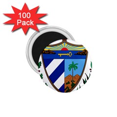 Coat Of Arms Of Cuba 1 75  Magnets (100 Pack)