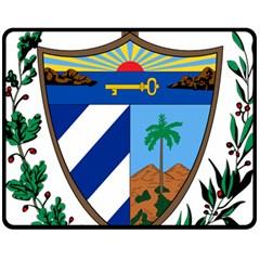 Coat of Arms of Cuba Fleece Blanket (Medium)