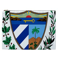 Coat of Arms of Cuba Cosmetic Bag (XXL)