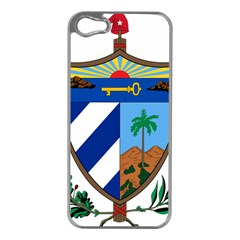 Coat of Arms of Cuba Apple iPhone 5 Case (Silver)