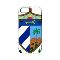 Coat of Arms of Cuba Apple iPhone 5 Classic Hardshell Case (PC+Silicone)