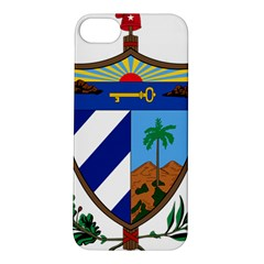 Coat of Arms of Cuba Apple iPhone 5S/ SE Hardshell Case