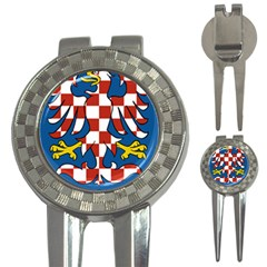 Moravia Coat of Arms  3-in-1 Golf Divots